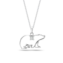 Load image into Gallery viewer, Polar Bear Pendant