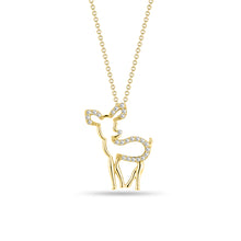 Load image into Gallery viewer, Deer Pendant