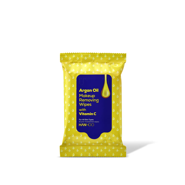Argan Oil Makeup Removing Wipes with Vitamin C