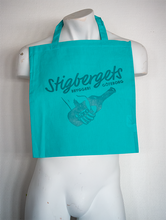 Load image into Gallery viewer, Cotton Bag - Turquoise