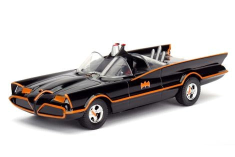 Jada 1:24 1966 Batmobile W- Batman & Robin