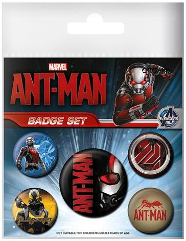 Ant-Man Badge Set