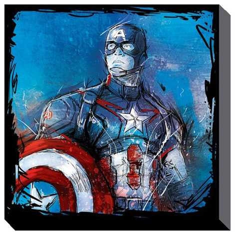 Avengers Age Of Ultron - Captain America Canvas Print
