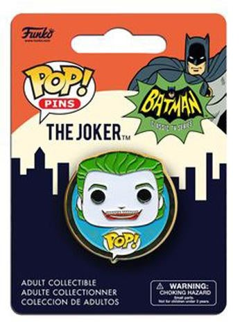 Funko Classic 1966 Joker Pop! Pin Badge