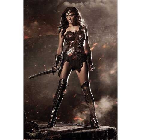 Batman V Superman - Wonder Woman Maxi Poster