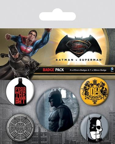 Batman Vs Superman - Batman Badgepack