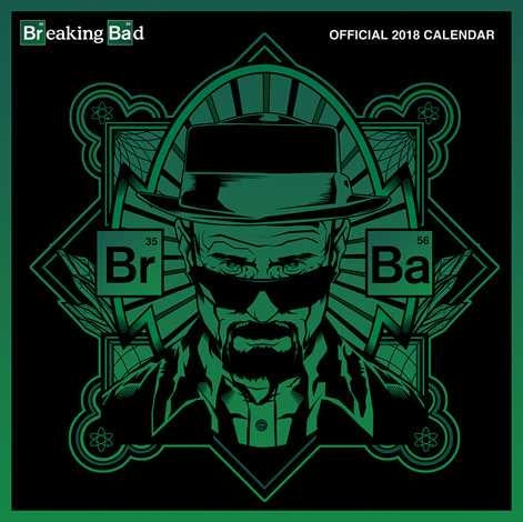 Breaking Bad Square 2018 Calendar