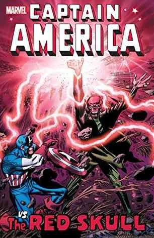 Captain America Vs The Red Skull Comic Book