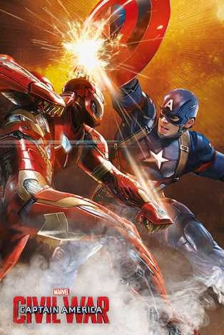 Captain America Civil War - Fight Maxi Poster