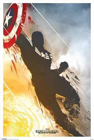 Marvel Captain America Winter Soldier Maxi Poster