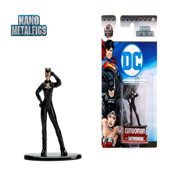 Jada DC Comics  Cat Woman (New 52) Nano Metal  Figure