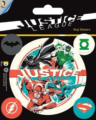 DC Comics - Justice League - Vinyl Sticker