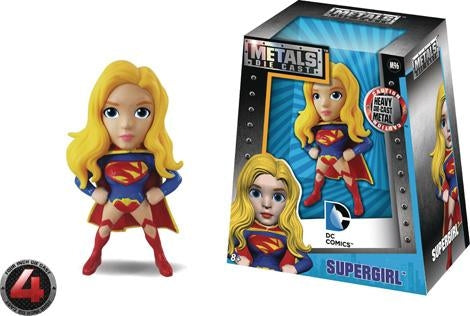 "DC Girl 4"" Supergirl Metal Die Cast Figure"