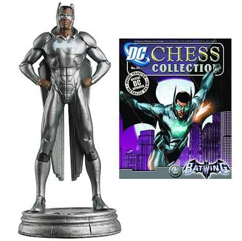 Dc Superhero Batwing White Pawn Chess Piece Figure