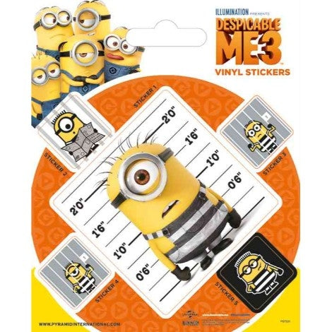 Despicable Me 3 - Breakout - Stickers