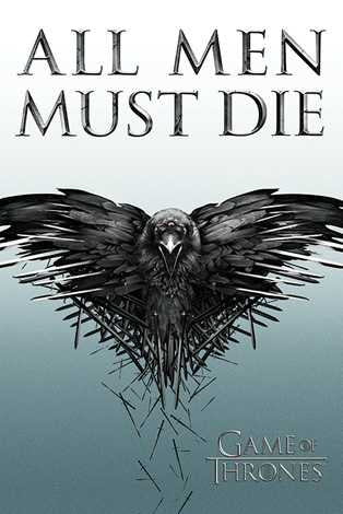 Game Of Thrones - All Men Must Die Maxi Poster