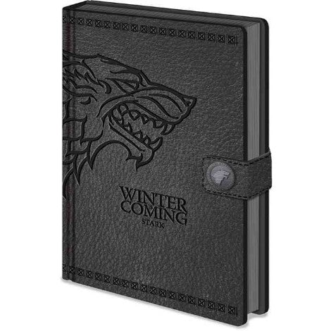 Game Of Thrones - Stark A5 Premium Clasp Notebook