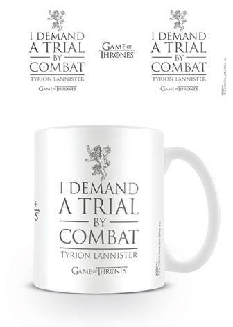 Game Of Thrones - Trial By Combat Coffee Mug
