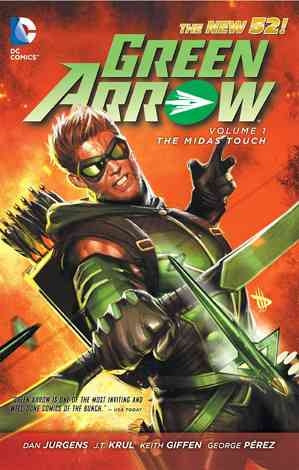 Green Arrow V.1: The Midas touch - The new 52 Comic Book