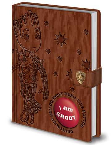 Guardians of the Galaxy Vol. 2 - I Am Groot - Official Audio Premium A5 Notebook