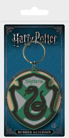 Harry Potter - Slytherin - Rubber Keychain