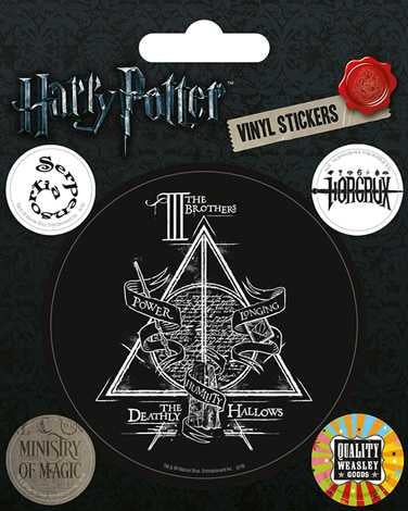 Harry Potter - Symbols - Vinyl Sticker