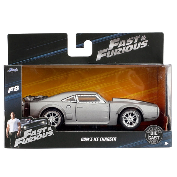 Jada 1:32 Scale - Fast & Furious Ice Charger-Grey