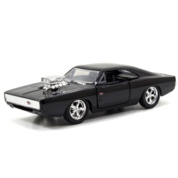 Jada 1:32 Scale - Fast & Furious 1970 Dodge Charger (Sreet) - Black Car
