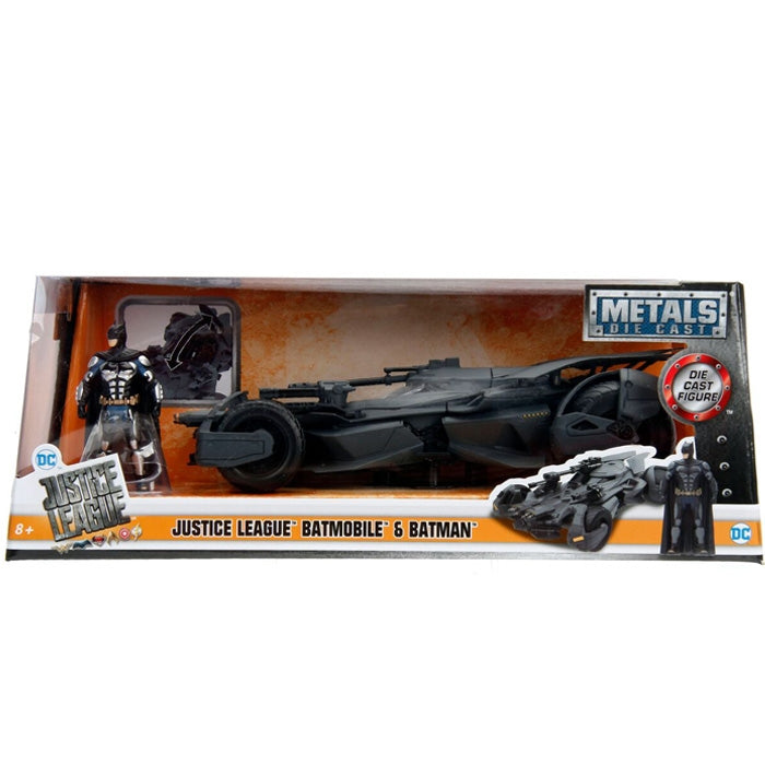 Jada 1:24 Scale 2017 Justice League Batmobile W-Batman