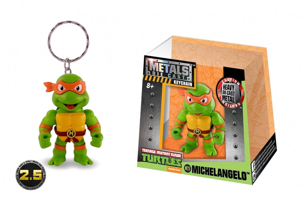 "Metals TMNT 2.5"" Michelangelo Mini Figure"