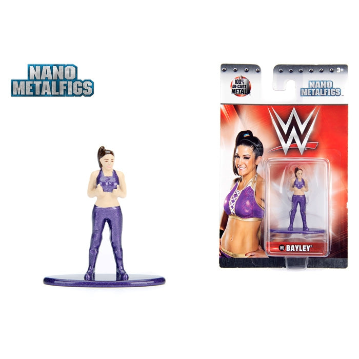 Jada WWE Bayley Nano Metal Figure