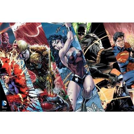 Justice League - Heroes Maxi Poster