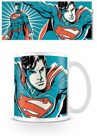 Justice League - Superman Color Coffee Mug