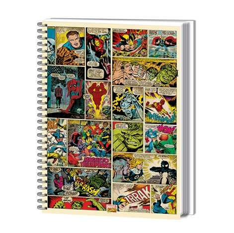 Marvel Comic Strip A4 Notebook