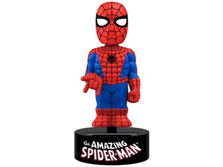 Solar Power Body Knockers - Amazing Spiderman