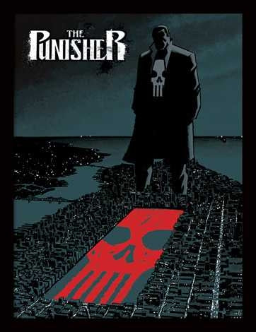 Marvel Extreme - Punisher Memorabilia