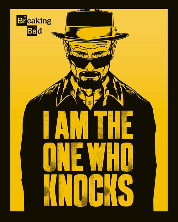 Breaking Bad - I Am The One Who Knocks - Mini Poster