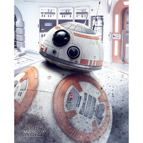 Star Wars The Last Jedi - BB-8 Peek - Mini Poster