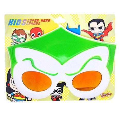 DC Comics Kids Shades The Joker Sun Staches