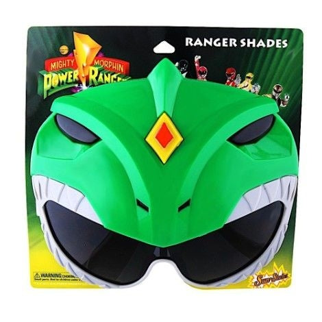 Green Power Rangers Sun Staches