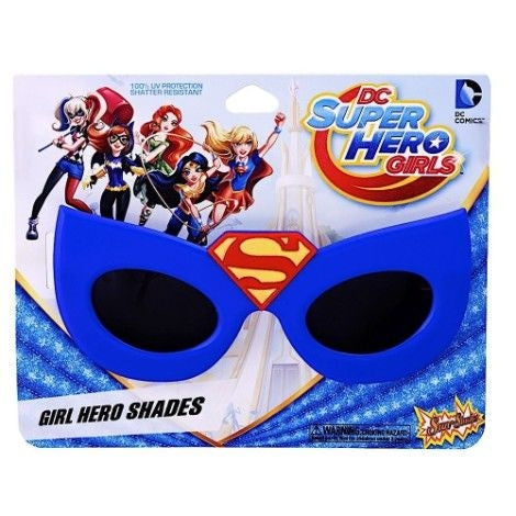 Kids Super Girl Sun Staches