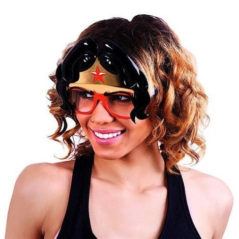Wonder Woman Hair Sun Staches