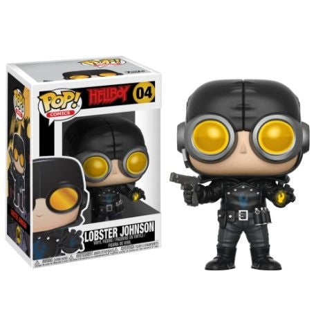 Funko Pop Comics: Hellboy - Lobster Johnson