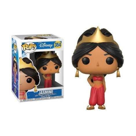 Funko Pop Disney: Aladdin - Jasmine - Red