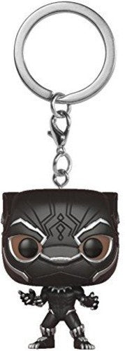 Funko Pop Keychain: Black Panther - Black Panther
