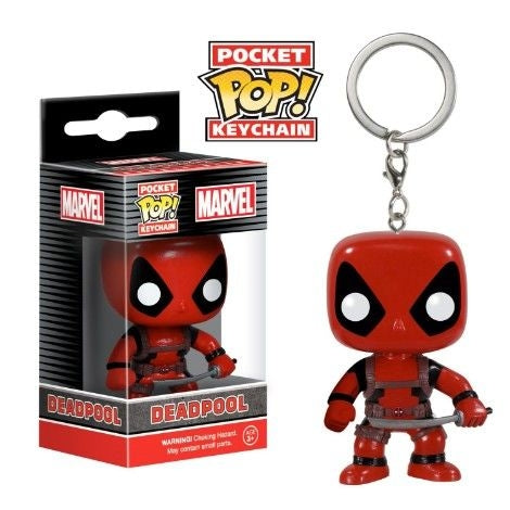 Funko Pop Keychain: Marvel - Deadpool