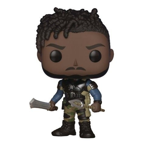 Funko Pop Marvel: Black Panther - Killmonger Without Chase