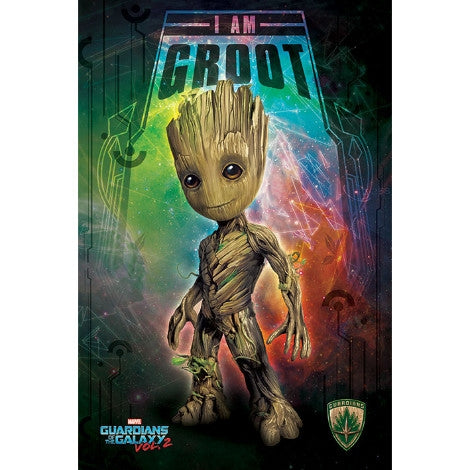 Guardians of the Galaxy Vol. 2 - I Am Groot - Space - Maxi Poster