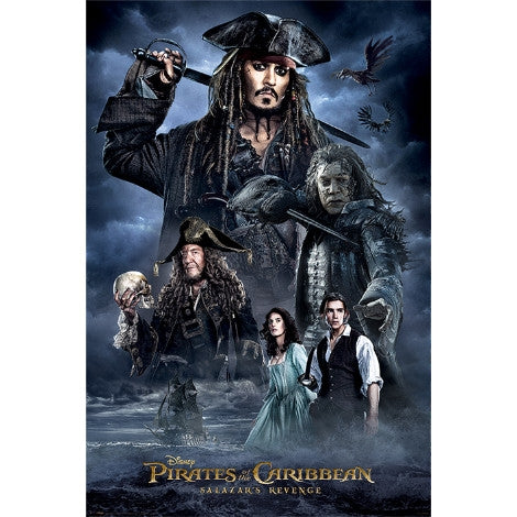 Pirates of the Caribbean - Darkness - Maxi Poster