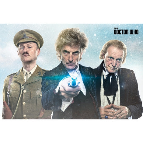 Doctor Who - Twice Upon A Time - Maxi Poster